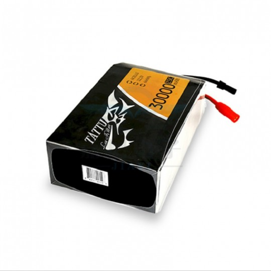 Аккумулятор Li-Po Tattu 30000 mAh, 6s, 25c, 22.2v