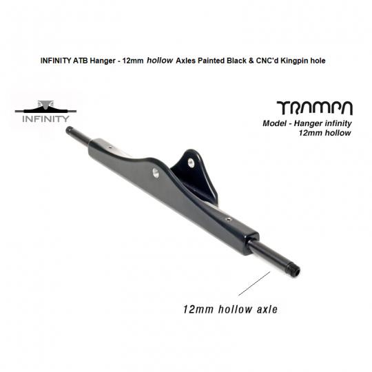Вешалка Trampa INFINITY ATB HANGER - 16 дюймов с 12 мм закаленными, полыми, стальными осями