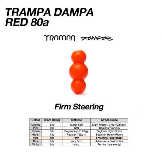 Амортизаторы бушинги Trampa Dampa's