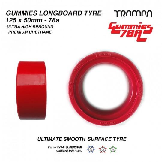 Комплект шин Trampa GUMMIES Tyres 52x125мм