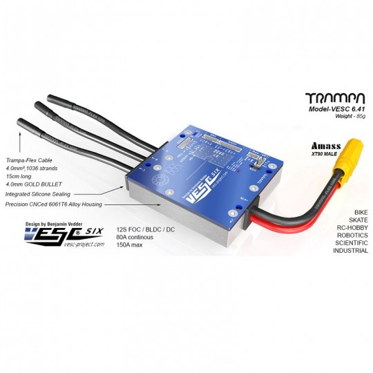 Trampa регулятор скорости VESC 6.41
