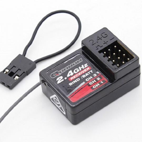 Аппаратура управления Quanum 2.4Ghz (3 канала TX) с приемником (3 канала RX), 2.4 ГГц