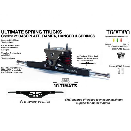 Подвеска для маунтинбордов E-MTB Trampa ULTIMATE с квадратом