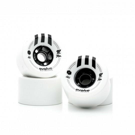 Комплект колес Evolve GTR Street 97 мм / 76A White