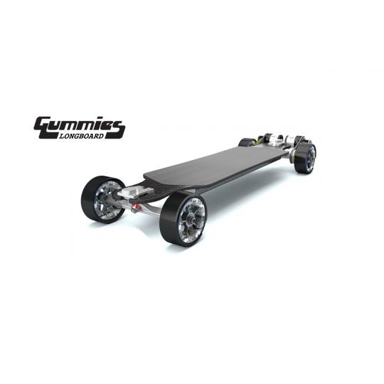 Электроскейт Trampa GUMMIES Longboard