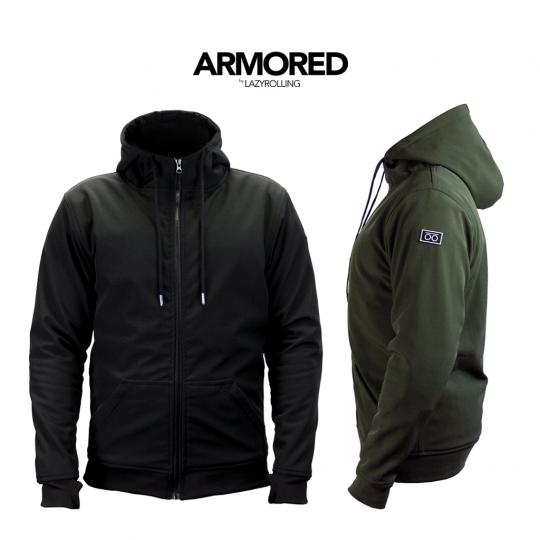 Водо и ветрозащитная бронированная куртка Lazyrolling