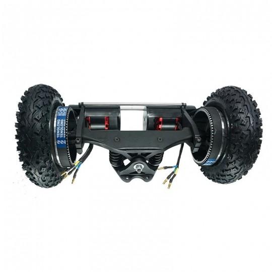 """Комплект 11"""" подвесок с 8"""" пневматическими шинами, ременнымы приводами и двумя сенсорными двигателями мощностью 1650 Вт"""