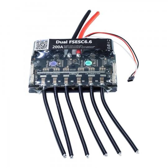 Двойной регулятор скорости FSESC 6.6 (на основе VESC® 6)