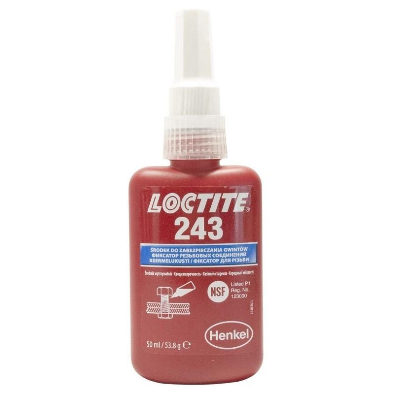 Loctite 243 (50 мл) - фиксатор резьбы средней прочности