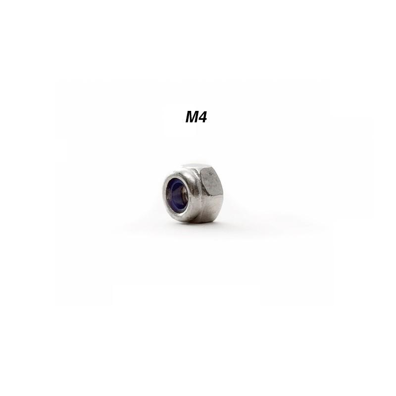 Гайка самоконтрящаяся нержавеющая сталь M4
