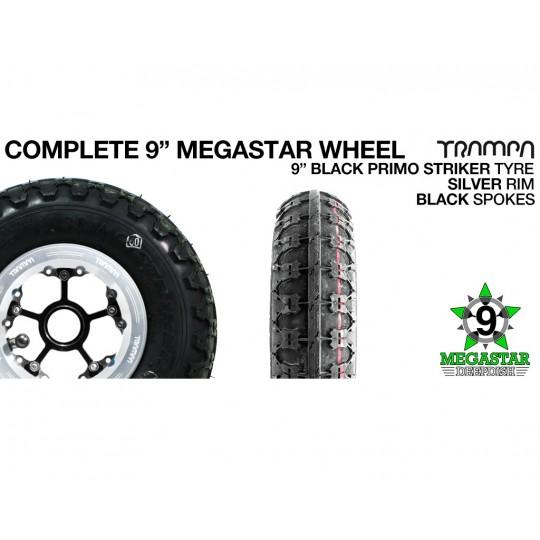 Комплект колес 9 дюймов Trampa MEGASTAR DEEP DISH OFFSET