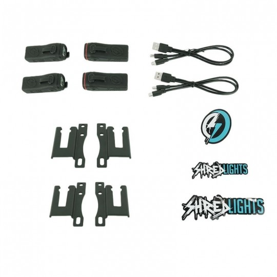 Фонари SHREDLIGHTS SL-200 COMBO PACK