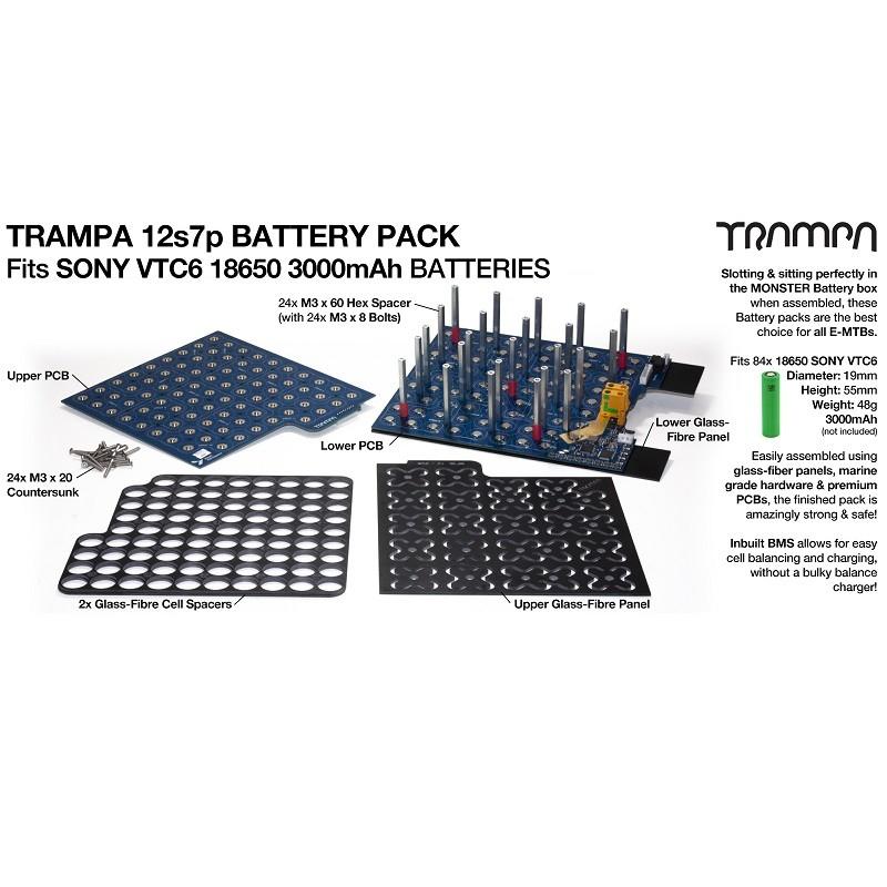 BMS плата Trampa для аккумуляторов 18650