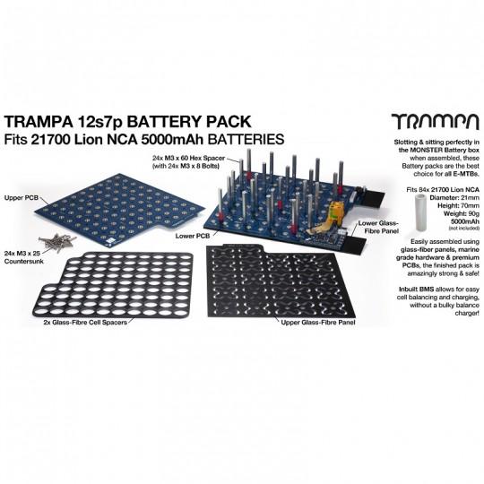 BMS плата Trampa для аккумуляторов 21700
