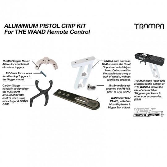 Комплект для преобразования пульта управления Trampa WAND в виде пистолета