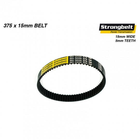 Зубчатый ремень для электроскейта Trampa Strongbelt Premium HTD 375 5M HP 15