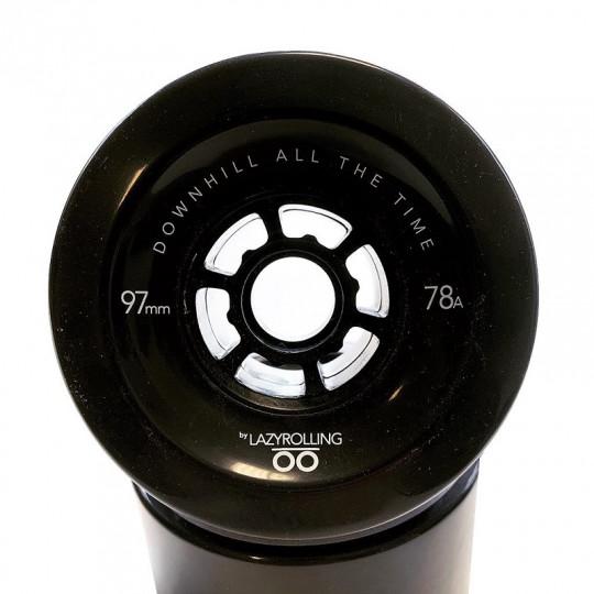 Колеса Lazyrolling 97 мм / 78А Black Limited