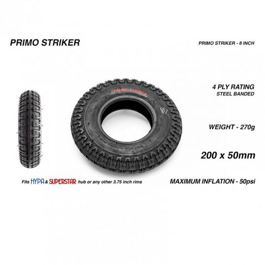 "Комплект покрышек PRIMO STRIKER HARD compound 8"", 200х50мм"