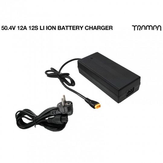 Зарядное устройство Trampa для Li-Ion аккумуляторов 50,4V, 12A, 12S