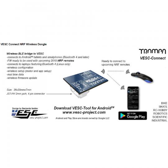 Trampa Bluetooth модуль беспроводной связи с VESC не программируемый