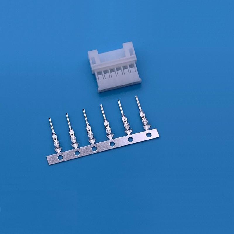 Разъём JST PH 2.0 корпус 6Р с контактами (папа)