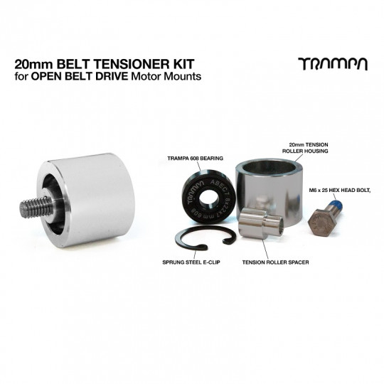 Ролик-натяжитель ремня для ременного привода Trampa OBD 20 мм