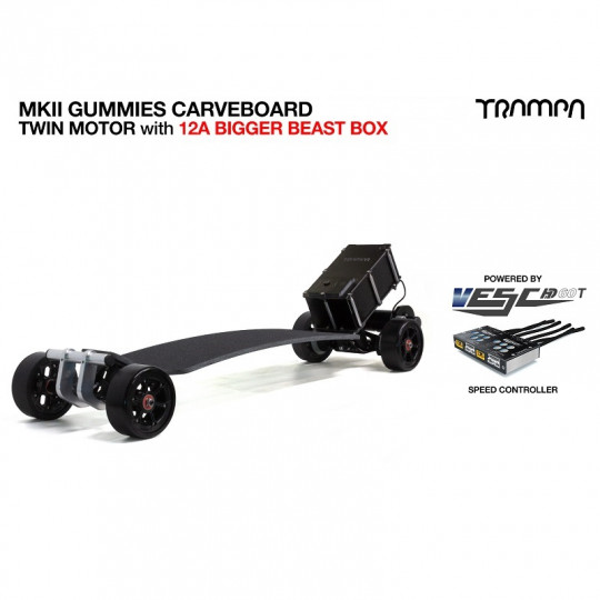 Электроскейт Trampa GUMMIES Carveboard
