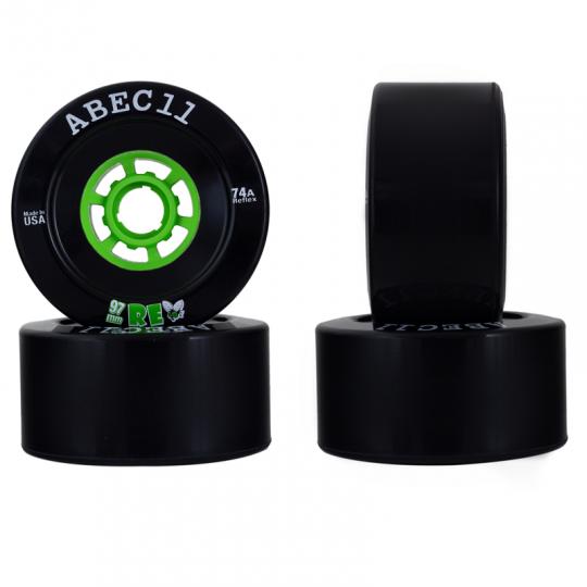 Комплект колёс ABEC11 REFLY 97мм BLACK (74А)