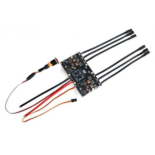 Двойной регулятор скорости MTVESC50ADU (на основе VESC)