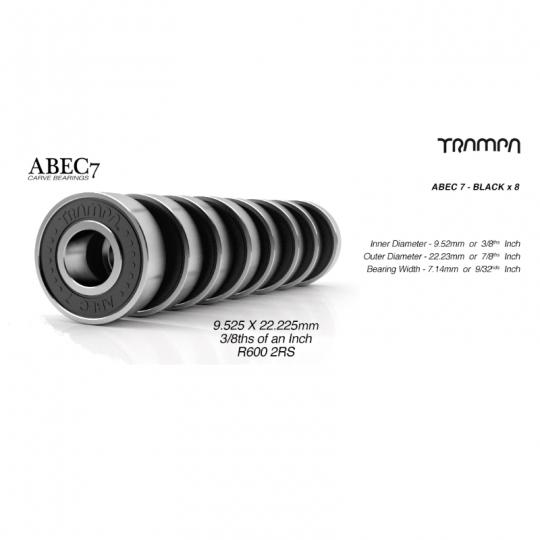 Подшипники Trampa ABEC 7, 9,525х22,225х7,142 мм